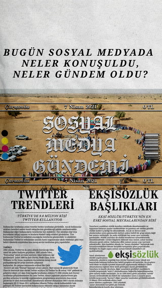 Sosyal medyayı sallayanlar - 7 Nisan