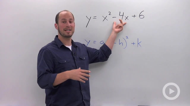 Finding the Vertex of a Parabola by Completing the Square