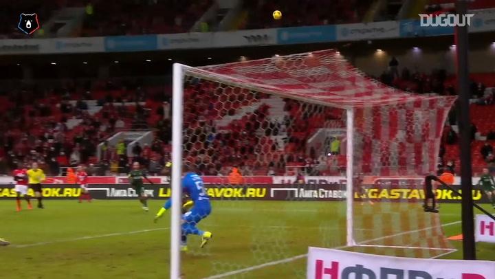 Spartak hand heavy defeat to Krasnodar
