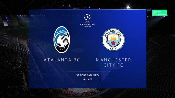 Champions League: Resumen y Goles del Atalanta - Manchester City