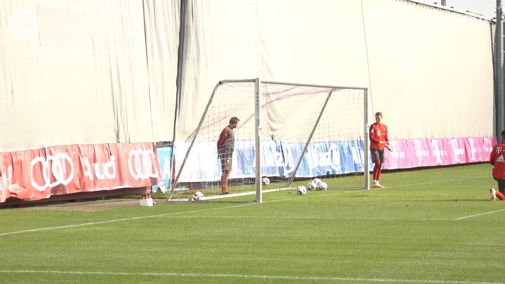 FC Bayern's Training Goals Of The Year #3