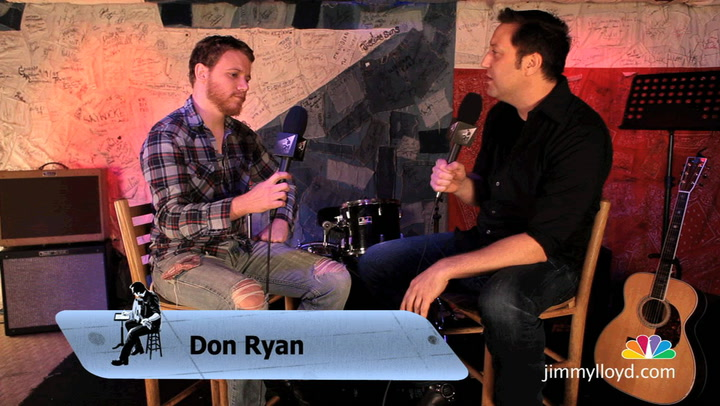 Don Ryan is interviewed on The Jimmy Lloyd Songwriter Showcase