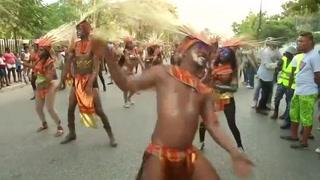 Haitians celebrate Carnival