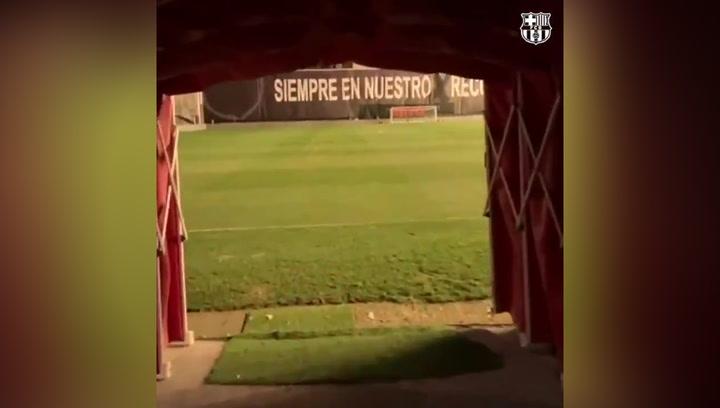 Messi y Riqui Puig, titulares en Vallecas