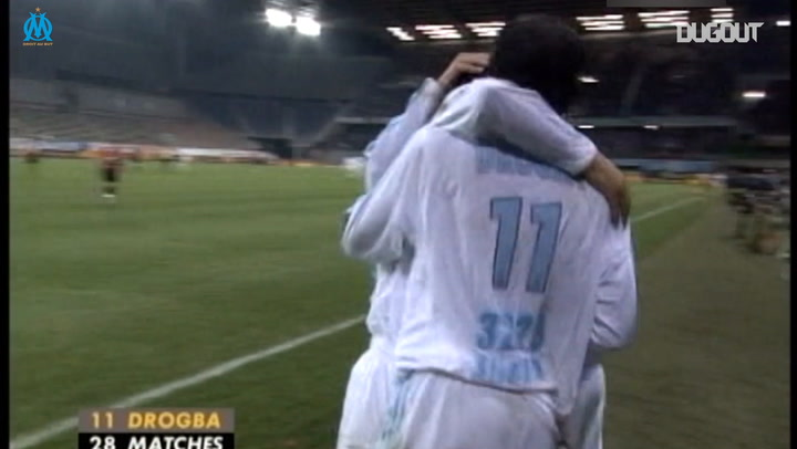 Mido And Drogba - Olympique De Marseille's Dynamic Duo