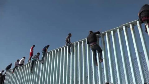Primeros migrantes centroamericanos llegan a frontera de EEUU