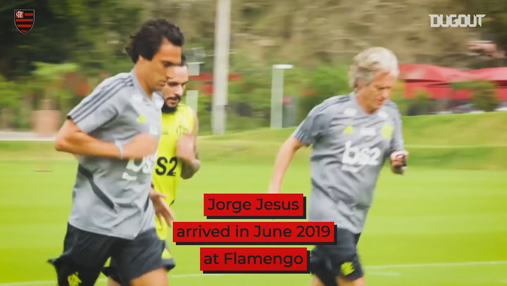 Jorge Jesus' incredible journey at Flamengo