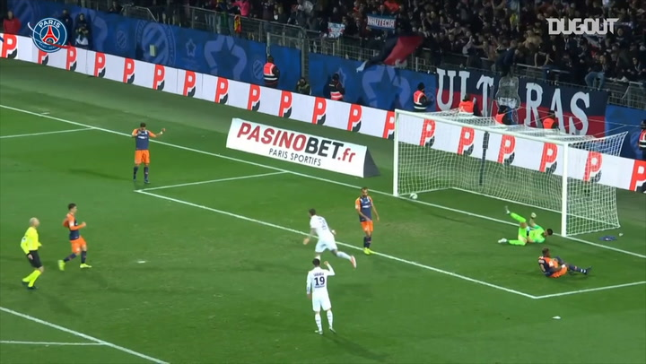 Mauro Icardi's finishes an incredible team effort with Neymar Jr and Mbappé vs Montpellier