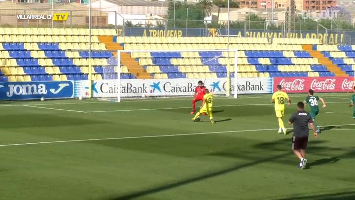 Santi Cazorla lidera una jugada de gol perfecta
