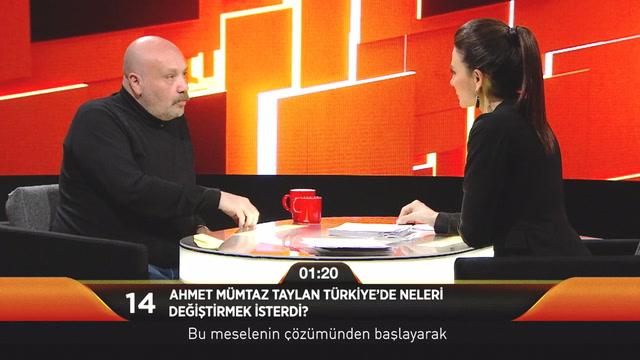 Jülide Ateş ile 40 - Ahmet Mümtaz Taylan Türkiye'de neleri değiştirmek isterdi?