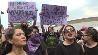 Protestan en México por violación de policías a adolescente