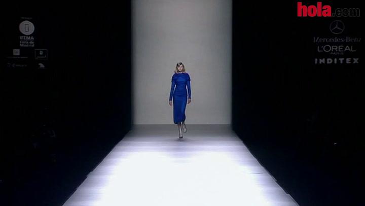 Fashion Week Madrid otoño-invierno 2014-2015: María Barros