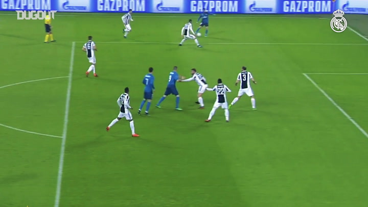 Ronaldo Menjadi Bintang Saat Real Madrid Menghajar Juventus
