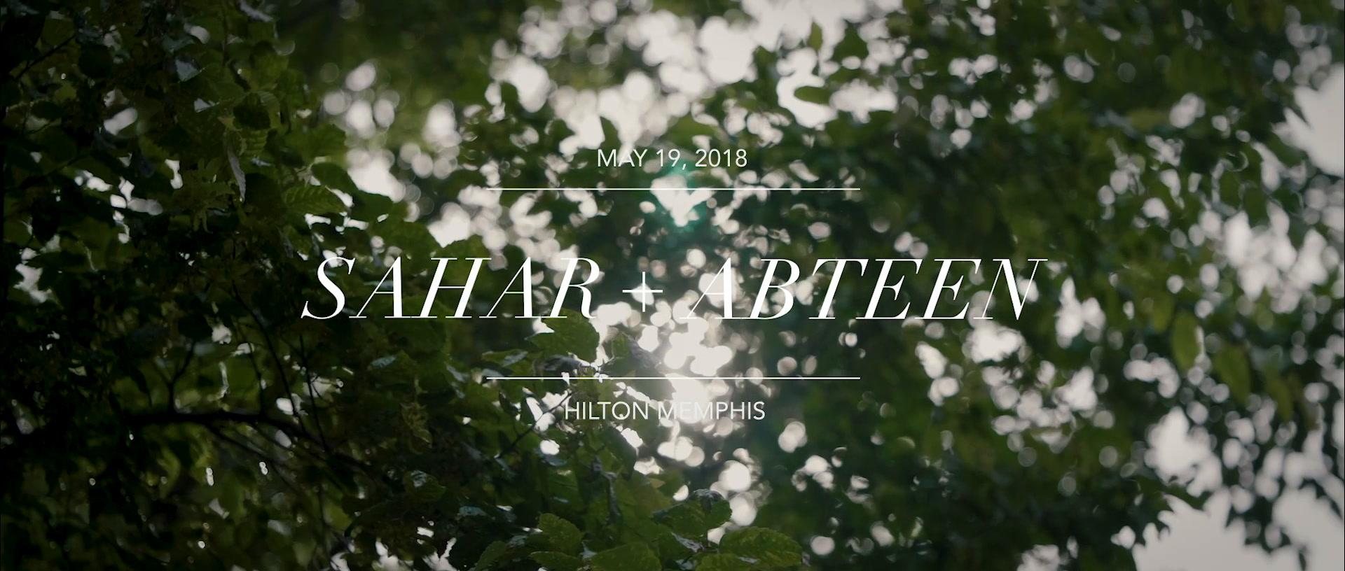 Sahar + Abteen | Memphis, Tennessee | The Hilton Memphis