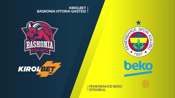 Euroliga KIROLBET Baskonia Vitoria-Gasteiz - Fenerbahce Beko Istanbul
