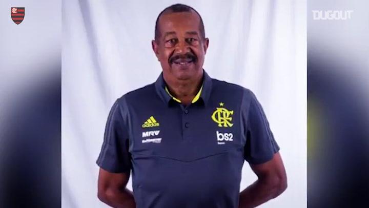 Flamengo's tribute to Jorginho