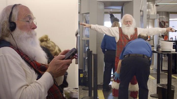 Julenissen flyr på turistklasse i år