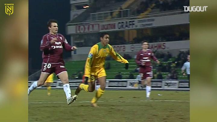Dimitri Payet và bàn thắng đẹp tại Nantes