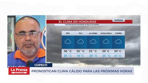 Pronostican lima cálido para las próximas horas