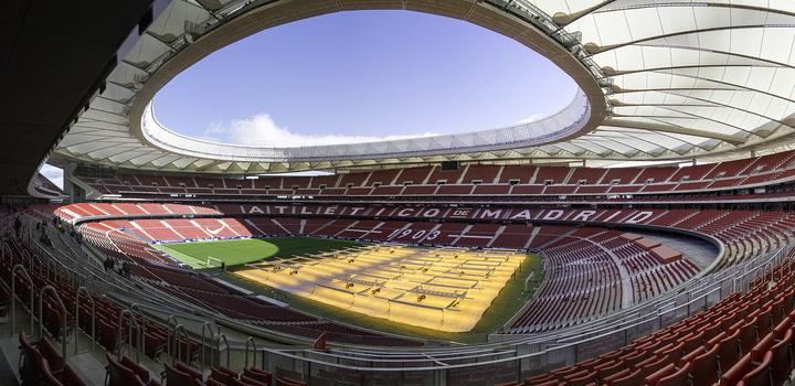 TIMELAPSE de la construcción del Wanda Metropolitano