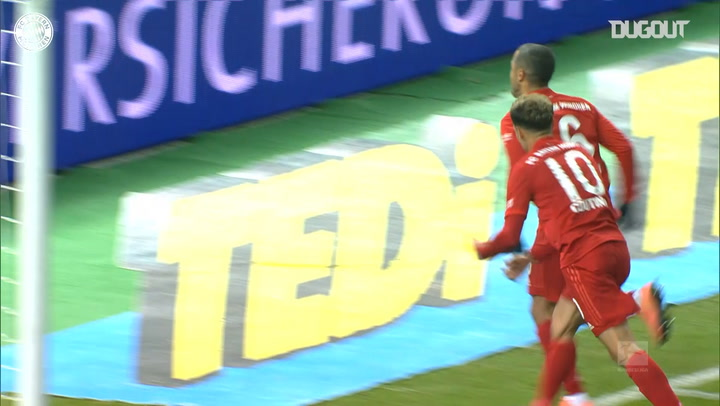 Thiago's powerful strike downs Hertha Berlin