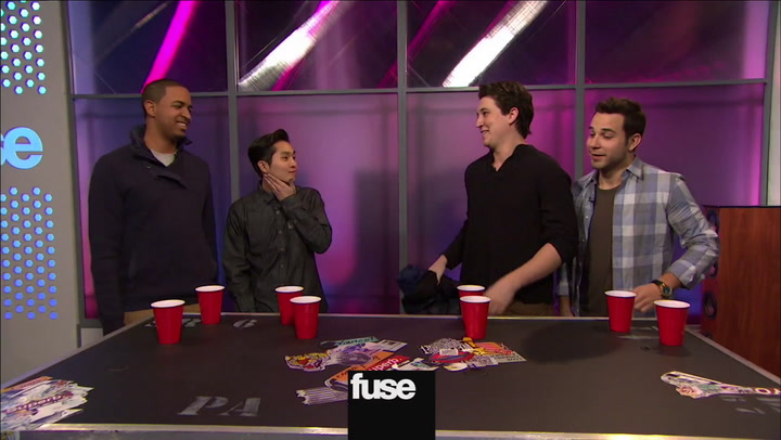 Cast Of '21 & Over' Plays Flip Cup On Top 20