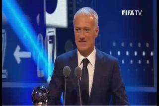 El francés Didier Deschamps se lleva el galardón del mejor técnico de la temporada