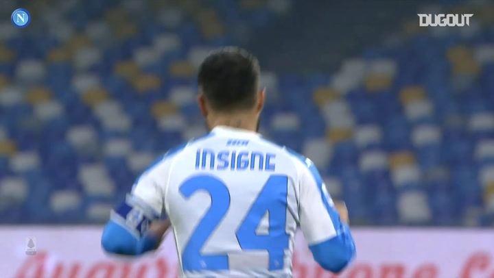 Insigne's incredible curler against Torino
