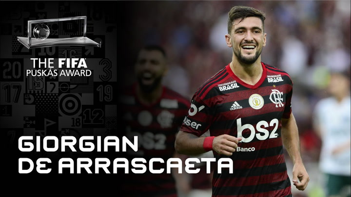 Gol de Giorgian De Arrascaeta - Finalista FIFA Puskas Award 2020