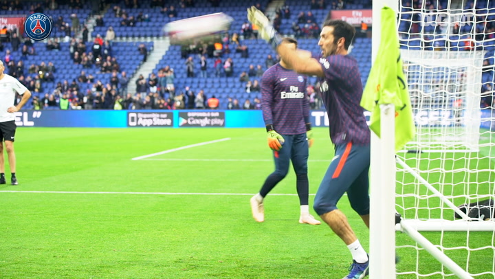 Behind The Scenes: On the Pitch With Gigi Buffon
