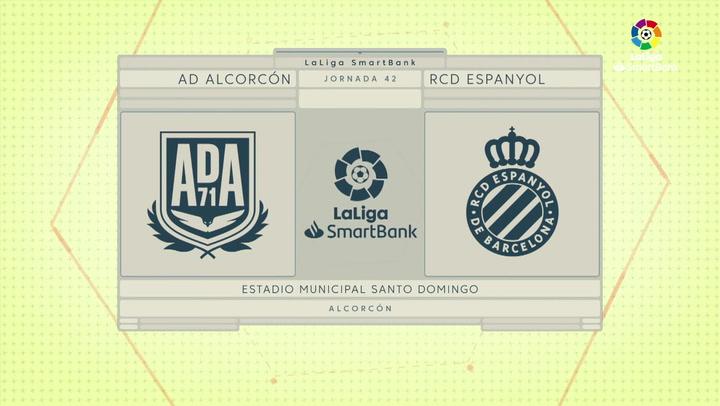 LaLiga SmartBank (J42): Resumen y goles del Alcorcón 1-0 Espanyol