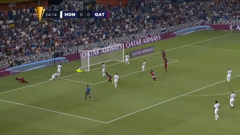 Con Golazo de Homam Ahmed, Qatar está venciendo a Honduras