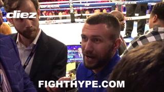 Lomachenko reacciona tras victoria de Teófimo López: