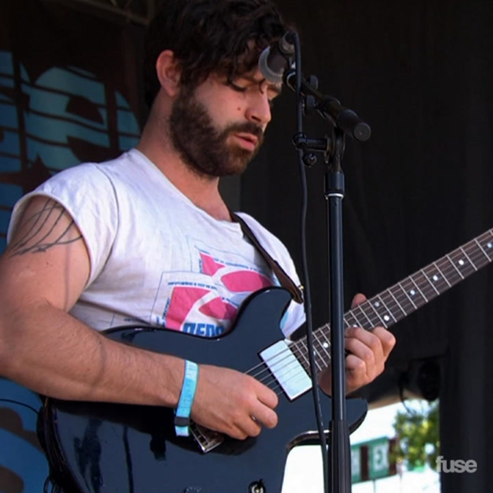 """Foals Performs """"My Number"""" At Bonnaroo 2013"""