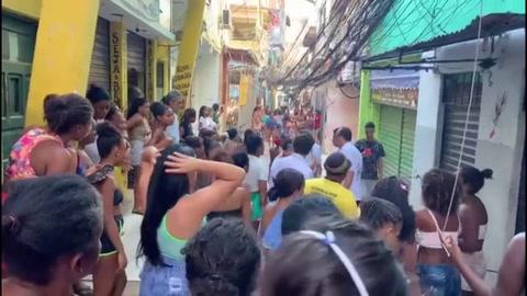 Más de una veintena de muertos en operación antidroga en favela de Rio de Janeiro