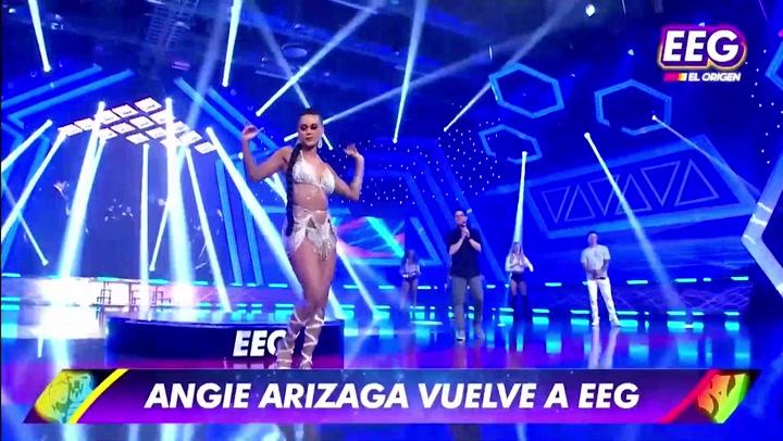"""Angie Arizaga vuelve a """"Esto es Guerra"""" y sorprende con impactante look"""