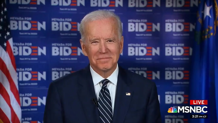 Biden: I 'Absolutely' Believe Barr Should Resign
