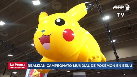 Realizan campeonato mundial de Pokémon en EEUU
