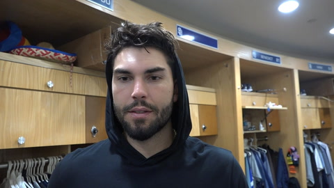 Eric Hosmer on much-needed off day after sweep by Dodgers