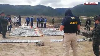 Incineran varios kilos de cocaína y marihuana decomisada en operativos