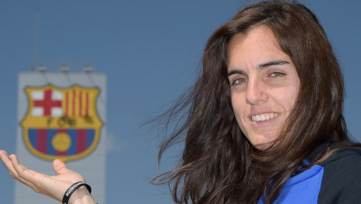 """Melanie: """"Un club como el Barça merece siempre ganar todos los títulos"""""""