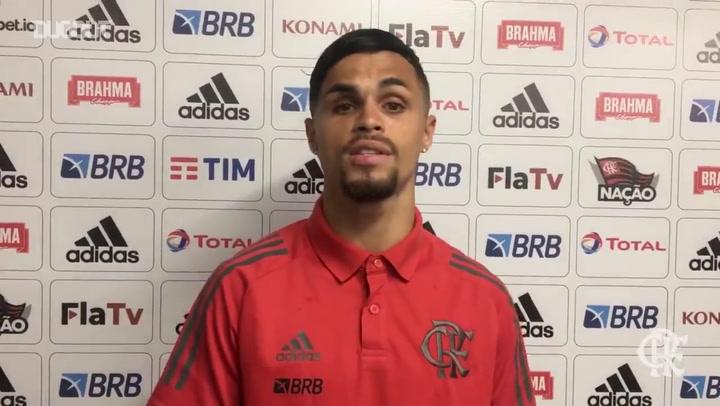 """Michael analisa vitória do Flamengo: """"Grande jogo"""""""