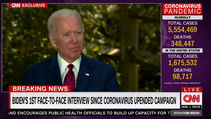 Biden: Twitter 'Should Say When Things Are Patently Not True'