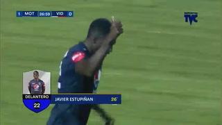 ¡GOOOOOL DEL MOTAGUA! Javier Estupiñán abre la cuenta 1-0 ante el Vida
