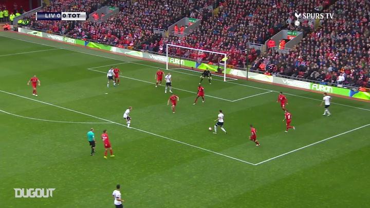 عودة بالذاكرة: كين يخطف نقطة لتوتنهام أمام ليفربول