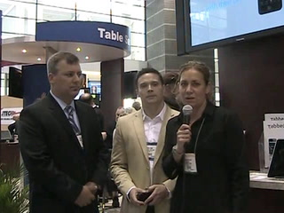 NRA 2011: Tabbed Out's mobile check payment solution