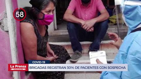 Avance Informativo: Unos 40 mil pacientes infectados de COVID circulan en el país