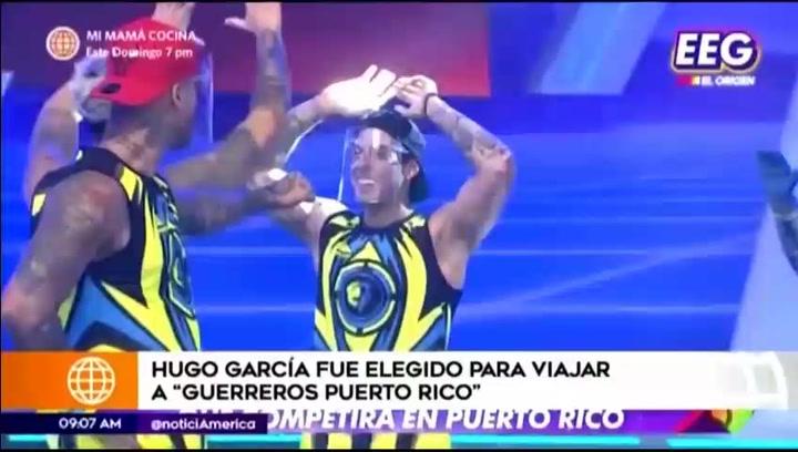 Hugo García es elegido para representar a Perú en Guerreros Puerto Rico