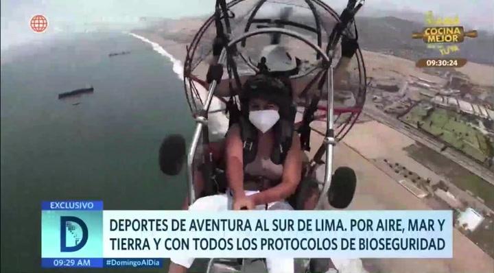 Deportes extremos al sur de Lima: adrenalina con medidas de bioseguridad