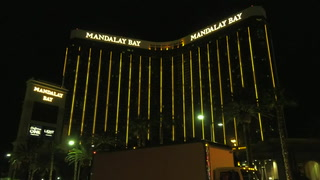 Mandalay Bay seen on evening of Oct. 1, 2018